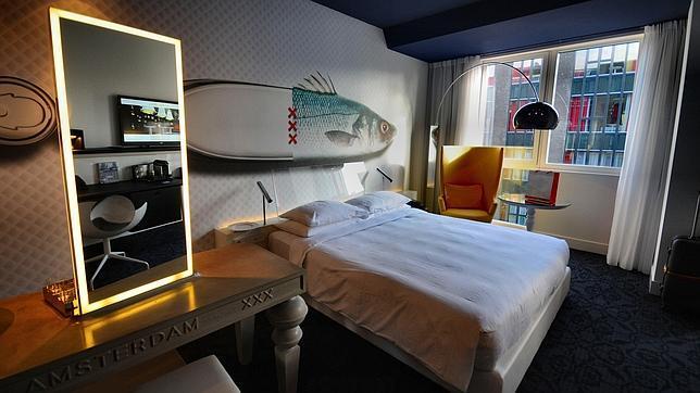 Una habitación del hotel Andaz