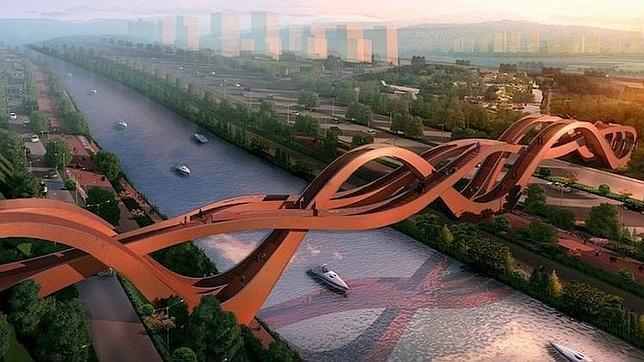 Construirán un puente basado en la cinta (sin fin) de Moebius