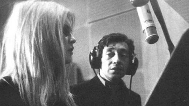 Briggitte Bardot y Gainsbourg