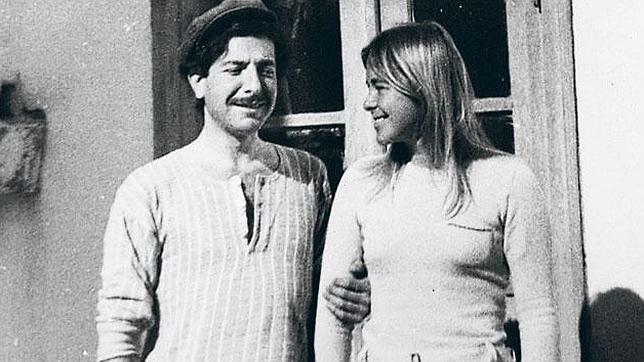 Marianne Jensen y Leonard Cohen