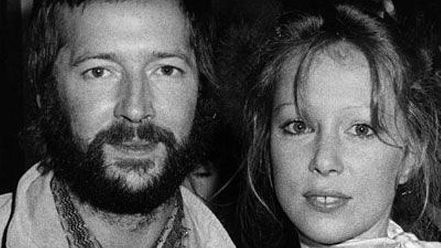 Eric Clapton con Pattie Boyd
