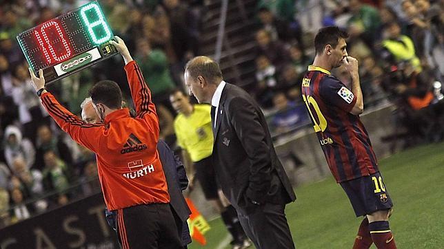 Nueva lesión muscular de Messi