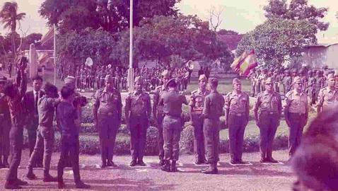 «Confidencial»: los militares españoles  que Franco envió a la Guerra de Vietnam