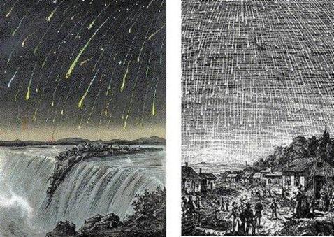 Resultado de imagen de lluvia de meteoros de leonidas de 1985