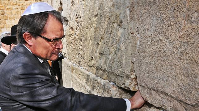 """Resultado de imagen de artur mas visita jerusalen"""""""