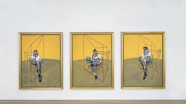 El tríptico que Francis Bacon dedicó a Lucian Freud, entre las 10 obras más caras de la historia