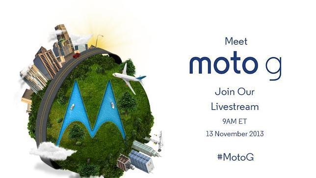 Motorola presenta hoy el Moto G, sucesor del Moto X
