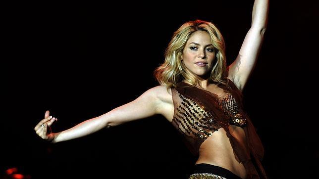Shakira, como siempre espectacular, en uno de sus conciertos