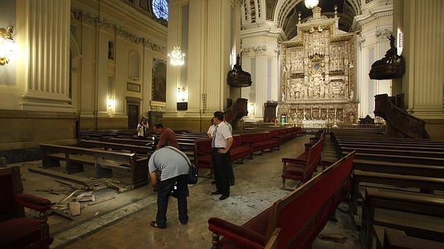 Detenidas cinco personas por el atentado contra la Basílica del Pilar de Zaragoza