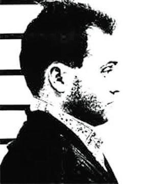 Ficha policial de García Ribado