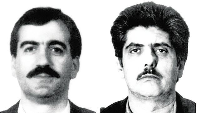 Manuel Lorenzo y Jesús Vela, los autores del crimen de Nigrán