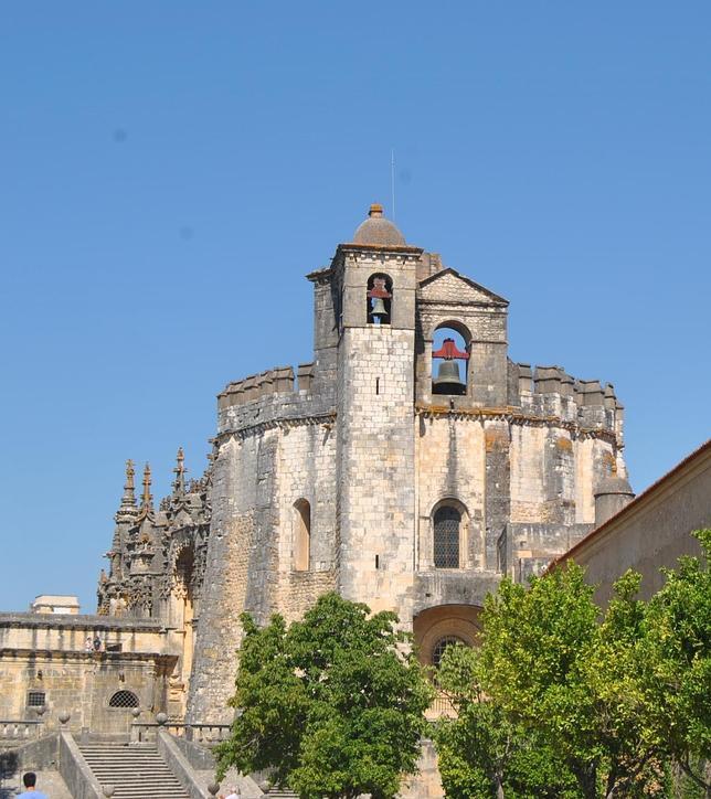 El Convento de Cristo fue sede de la Orden de Cristo