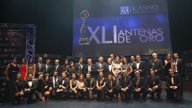 Entregadas las Antenas de Oro 2013 a los profesionales más destacados del año