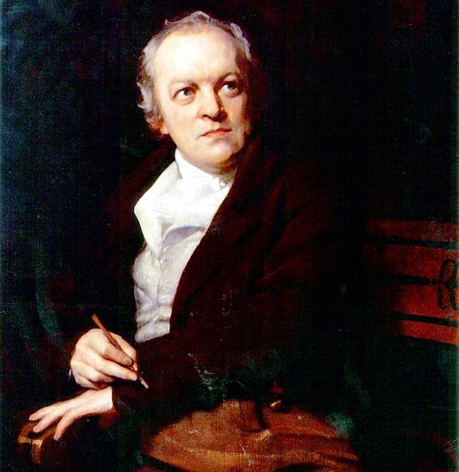 Retrato de William Blake por Thomas Phillips en 1807