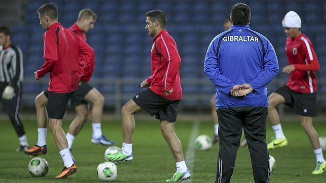 Gibraltar, ante su estreno en la UEFA