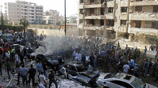 Al menos 23 muertos en un atentado cerca de la embajada de Irán en Beirut