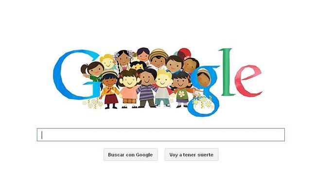 El Día Universal del Niño, nuevo «doodle» de Google