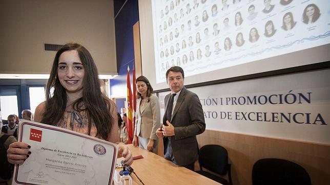 Primera promoción del Bachillerato de Excelencia en Madrid