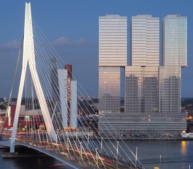 Koolhaas crea en Rotterdam uno de los edificios más grandes de Europa