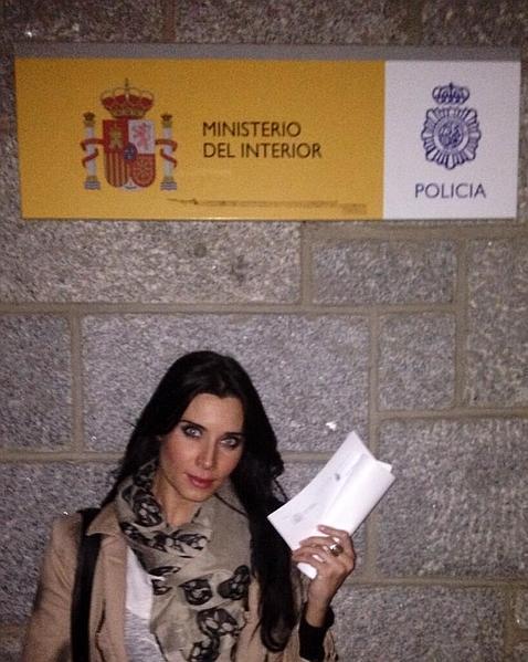 Pilar Rubio denuncia ante la Policía un fotomontaje obsceno