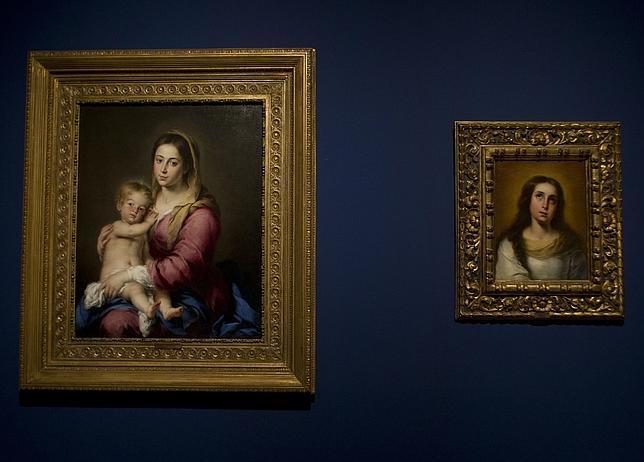 Dos obras de Murillo: «Virgen con el Niño» y «Virgen Niña»