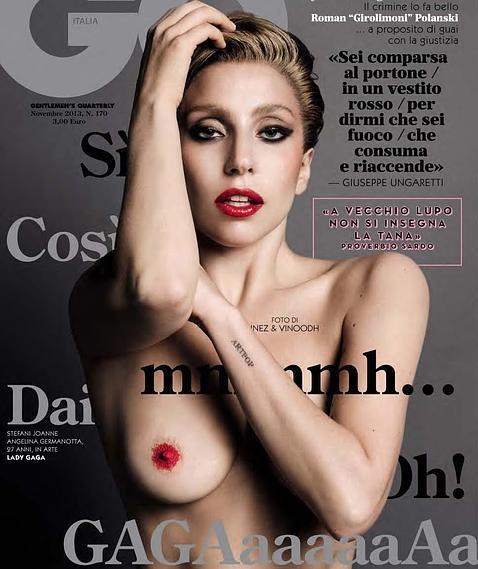 Lady Gaga Un Desnudo De Portada