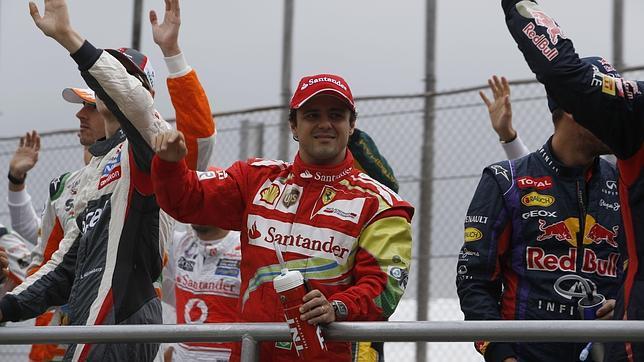 Felipe Massa: «Para Raikkonen será difícil tener de compañero a un piloto casi perfecto como Alonso»