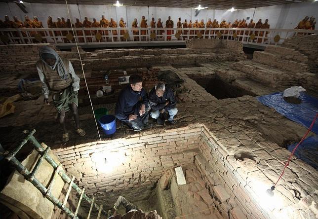 Un hallazgo arqueológico retrotrae el nacimiento de Buda al siglo VI a.C.