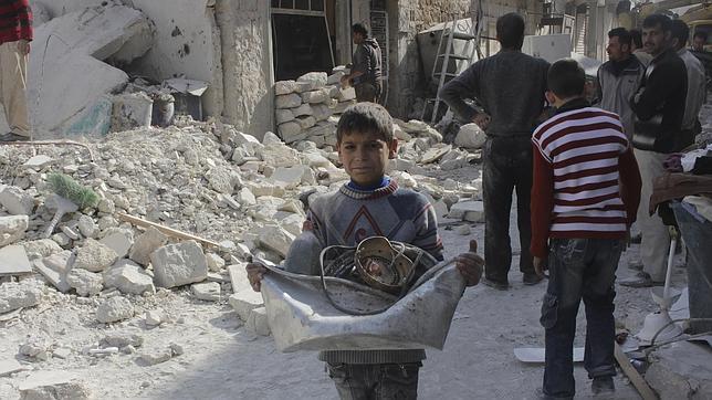 Francotiradores a la caza de niños en Siria