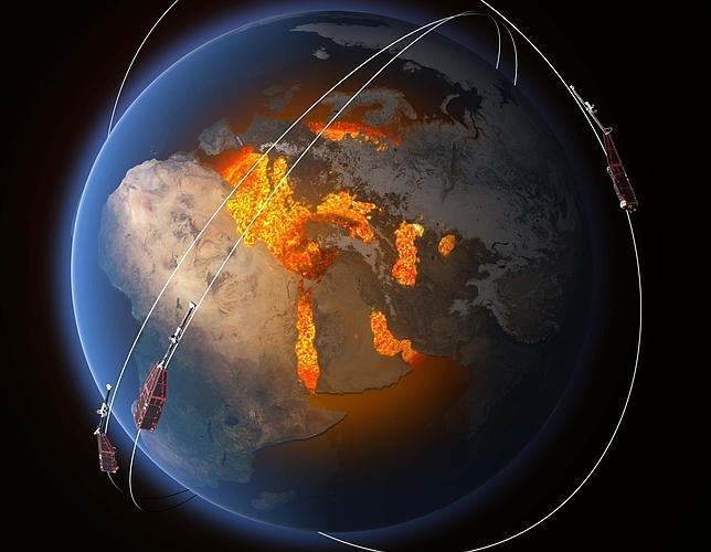 Inversión de los polos magnéticos de la Tierra: ¿el regreso a la Edad de Piedra?