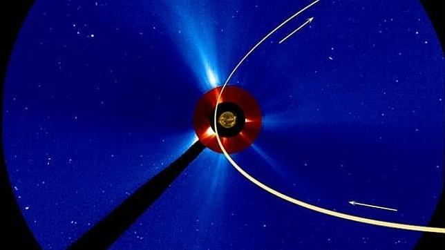 Sospechas de que el cometa Ison se ha desintegrado al aproximarse al Sol