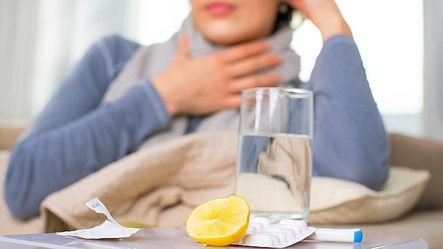 DOLOR DE GARGANTA: Poco habitual en la gripe y ocasional en el resfriado