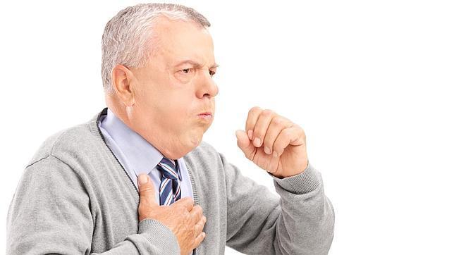 TOS. Frecuente en la gripe, en el resfriado es moderada