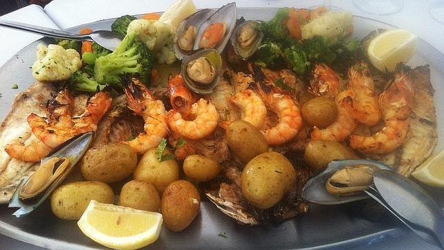 Marisco y pescado frescos son imprescindibles en la mesa portuguesa