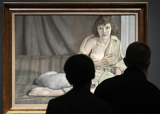 Lucian Freud no tiene quien le exponga en España