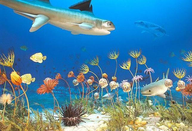 La mayor extinción sobre la Tierra Largefish_scene--644x440