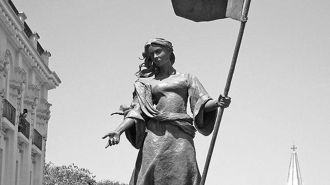 Monumento a Beatriz Hernández en la ciudad mexicana de Guadalajara