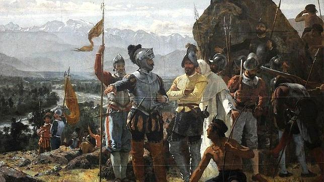 La fundación de Santiago de Chile, Santiago de Nueva Extremadura entonces