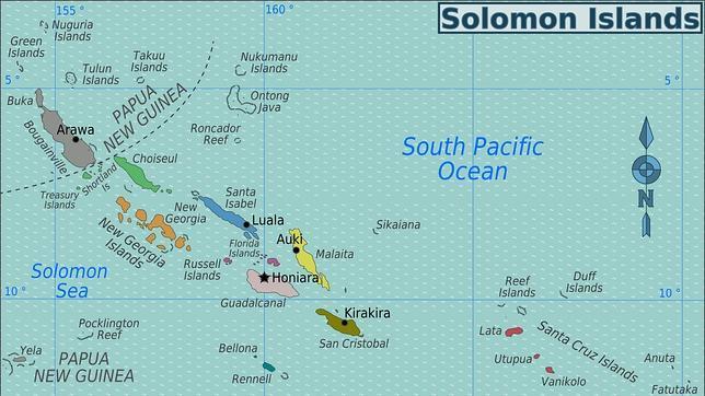 Las islas Salomón, objetivo de Isabel Barreto