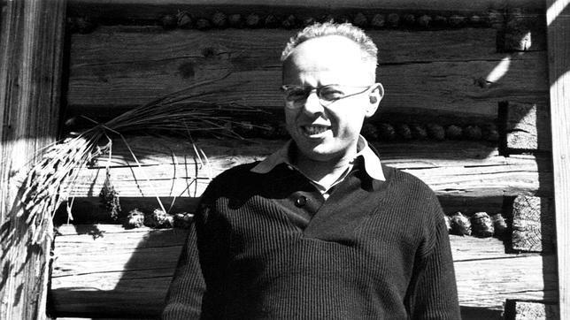 El escritor polaco Stanislaw Lem
