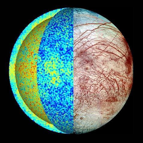 Desvelado el misterio de las cicatrices en el hielo de Europa