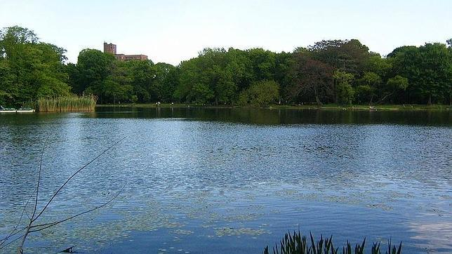 El lago de Prospect Park