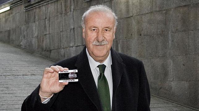 Del Bosque, socio 685 del Unionistas de Salamanca