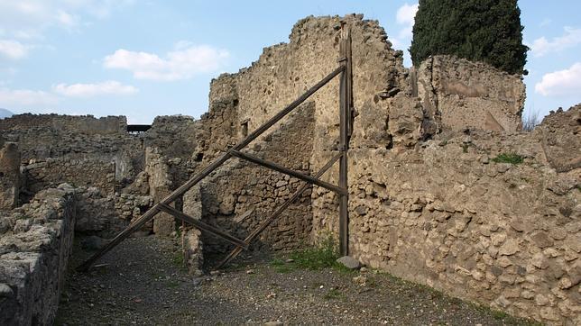 Pompeya sufre nuevos derrumbes en sus ruinas arqueológicas