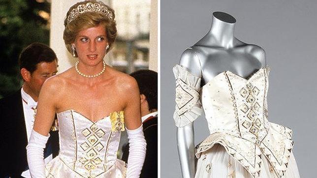El vestido favorito de Lady Di, vendido por 123.000 euros
