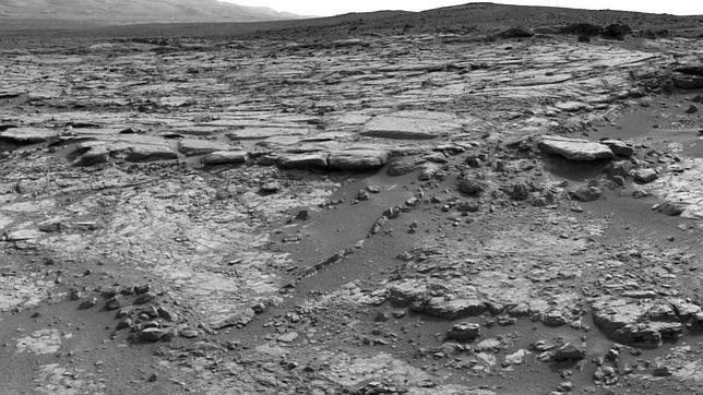 El Curiosity encuentra en Marte la cuenca  de un lago que pudo ser habitable
