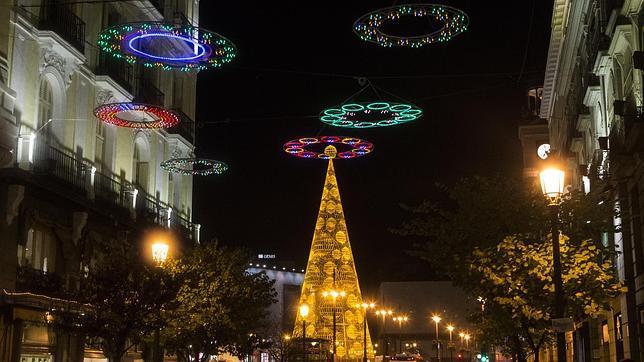 Madrid Decorado De Navidad