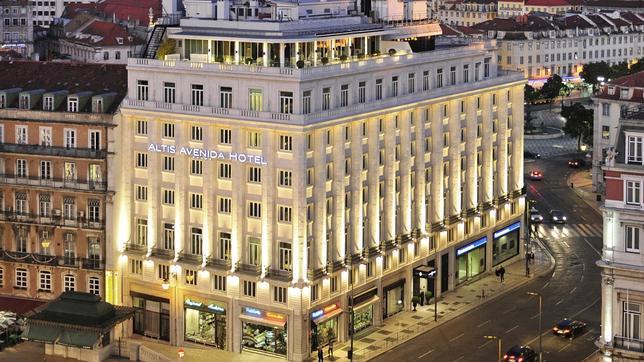 El Altis Avenida Hotel se encuentra en pleno centro de Lisboa