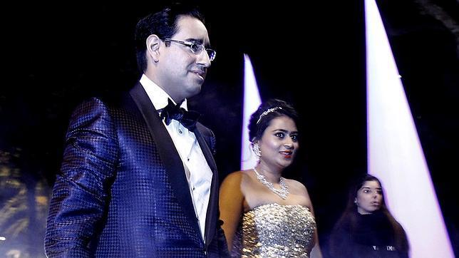 Artur Mas se vuelca con la boda millonaria de los Mittal