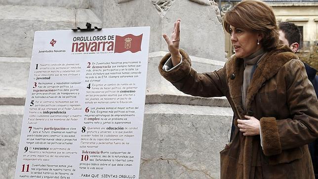 El Supremo archiva definitivamente la causa contra Barcina por las dietas de Caja Navarra